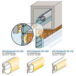 200 cm Rollladendichtungen 21 - 30 mm