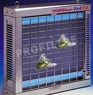 Chameleon 4x4 EX fängt fliegen und andere Insekten auf 440 qm Raumfläche, UV Lampen schützt in Bereichen mit Explosiven Stäuben